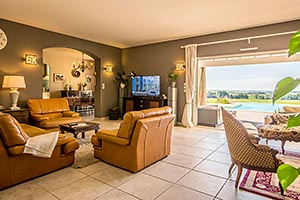 Villa in Charente-Maritime, lounge area